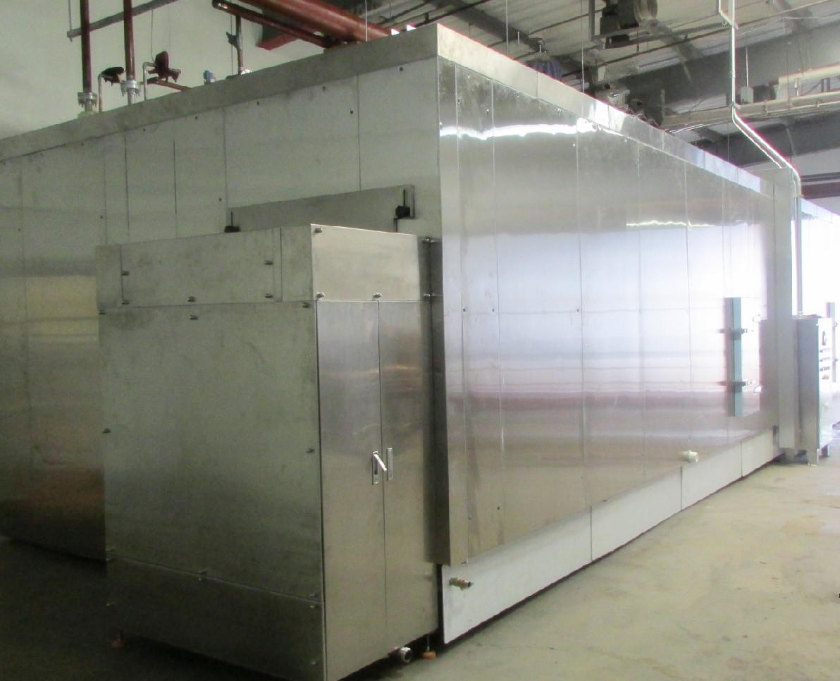 High Quality IQF Freezer 1500kg/H Fluidized Bed Freezer For Fruits