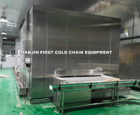 Operation and application characteristics of tunnel freezer